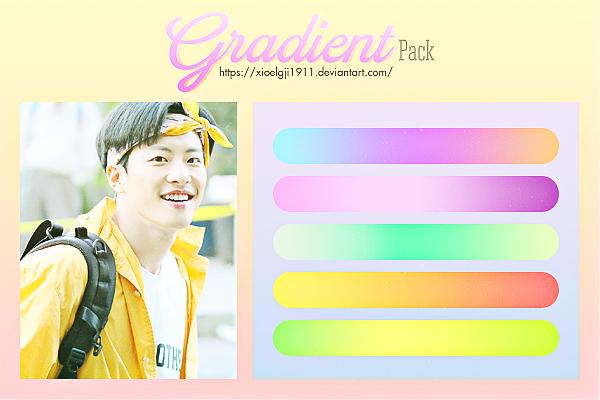 GRADIENT Pack 2 by Xioelgji1911