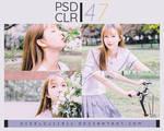[ PSD CLR ] 47