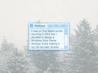 Windows Style Freebie