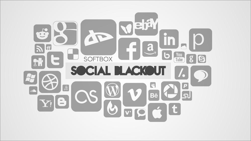 Social Blackout by Softboxindia