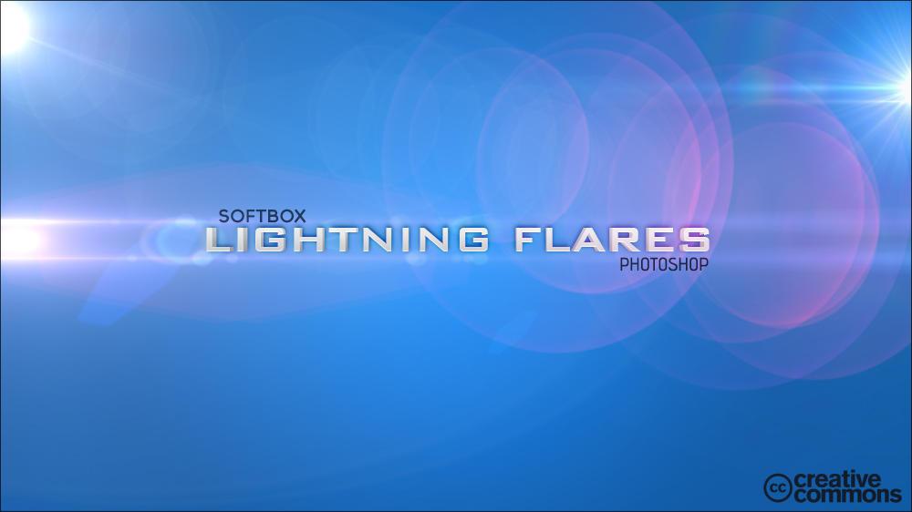 Lightning Flares | Photoshop by Softboxindia