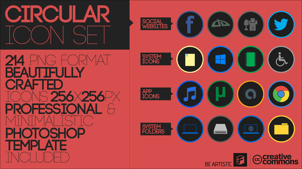 Circular Icon Set by Softboxindia on DeviantArt