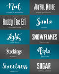 Christmas Font Pack
