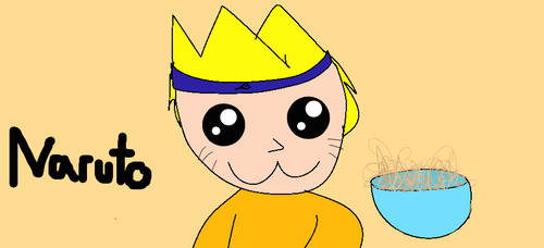 NARUTO AND RAMEN NOODLE !!!
