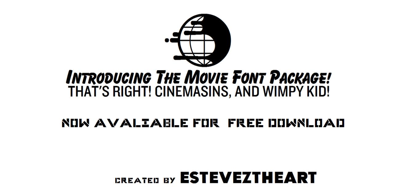 Download Movie Font Package! by EstevezTheArt on DeviantArt
