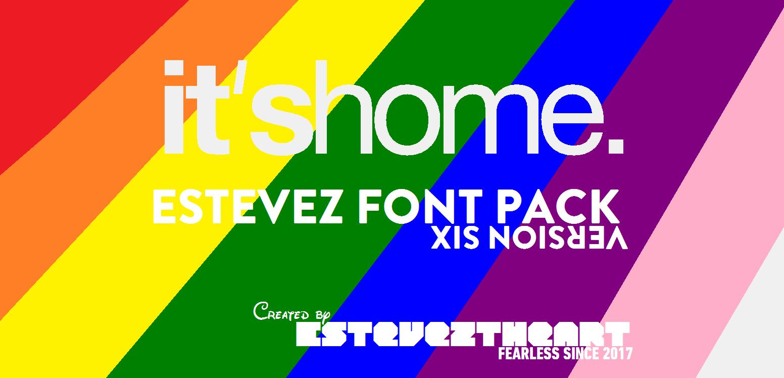 Download Estevez Font Pack - VERSION 6! by EstevezTheArt on DeviantArt
