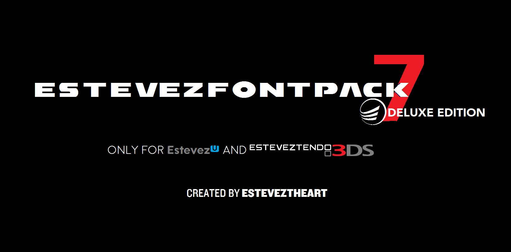 Download Estevez Font Pack VERSION SEVEN! (Deluxe Edition) by ...