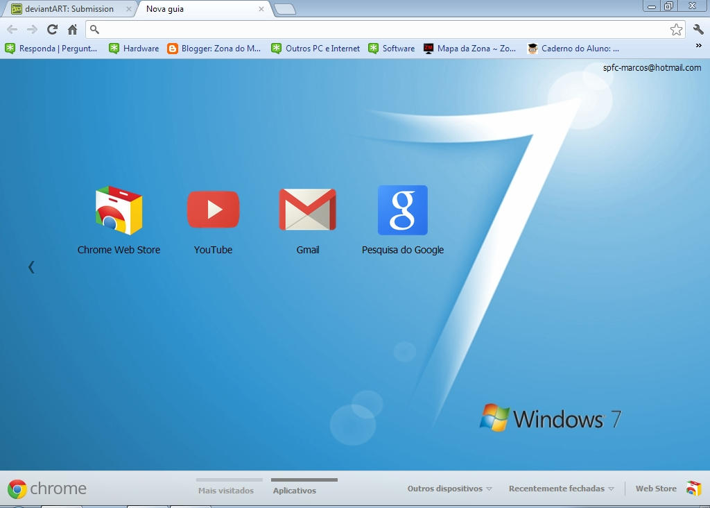Windows 7/Vista Basic Theme V2 For Google Chrome By