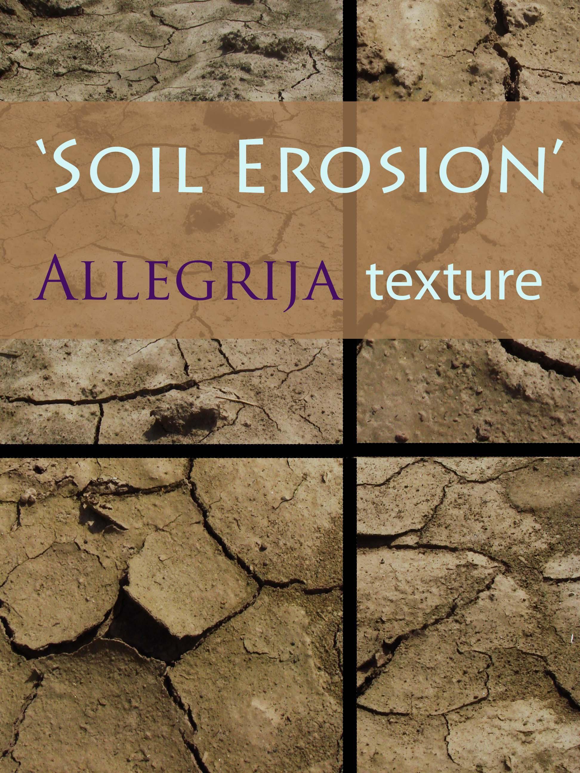 Soil erosion texture by allegrija on deviantart for Soil tour dates 2015