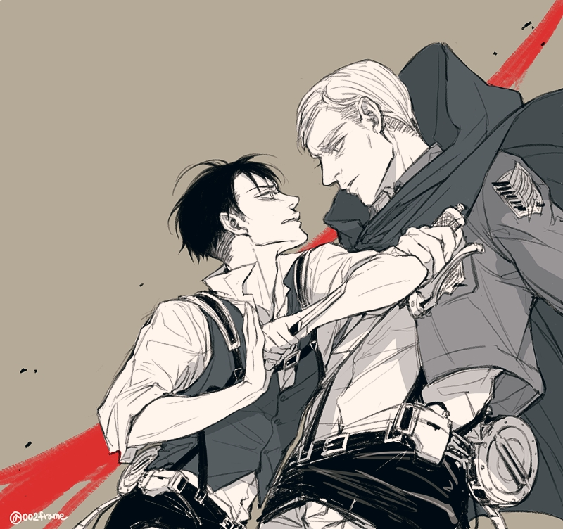 levi x reader x erwin your warm embrace by chloem56 on