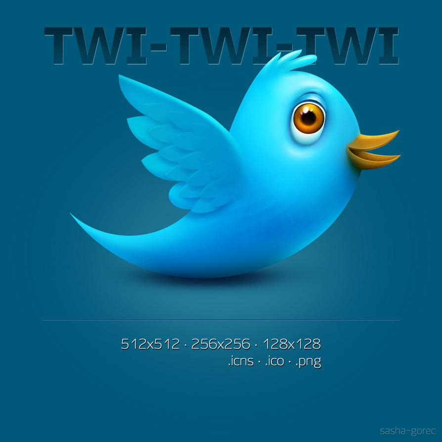 twitter icon by gorec