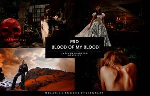 PSD Coloring. Blood of my Blood. by MelaniesAnwork