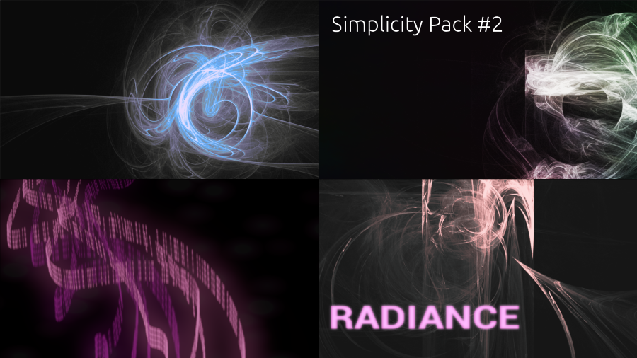Simplicity Pack 2 - Radiance preview
