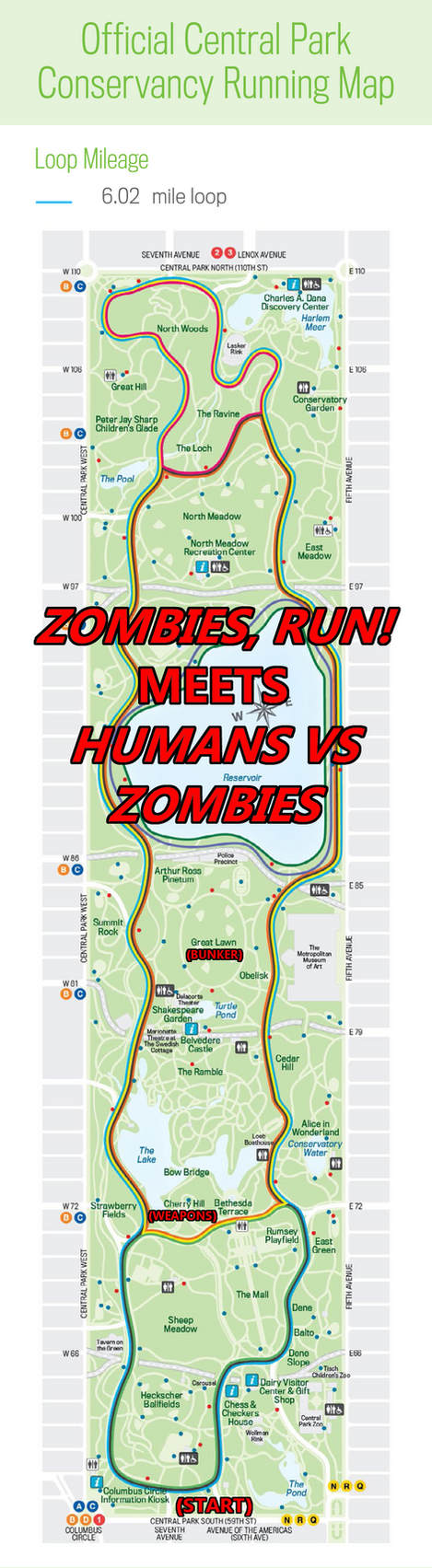 agents zombies run in central park 156 186 by