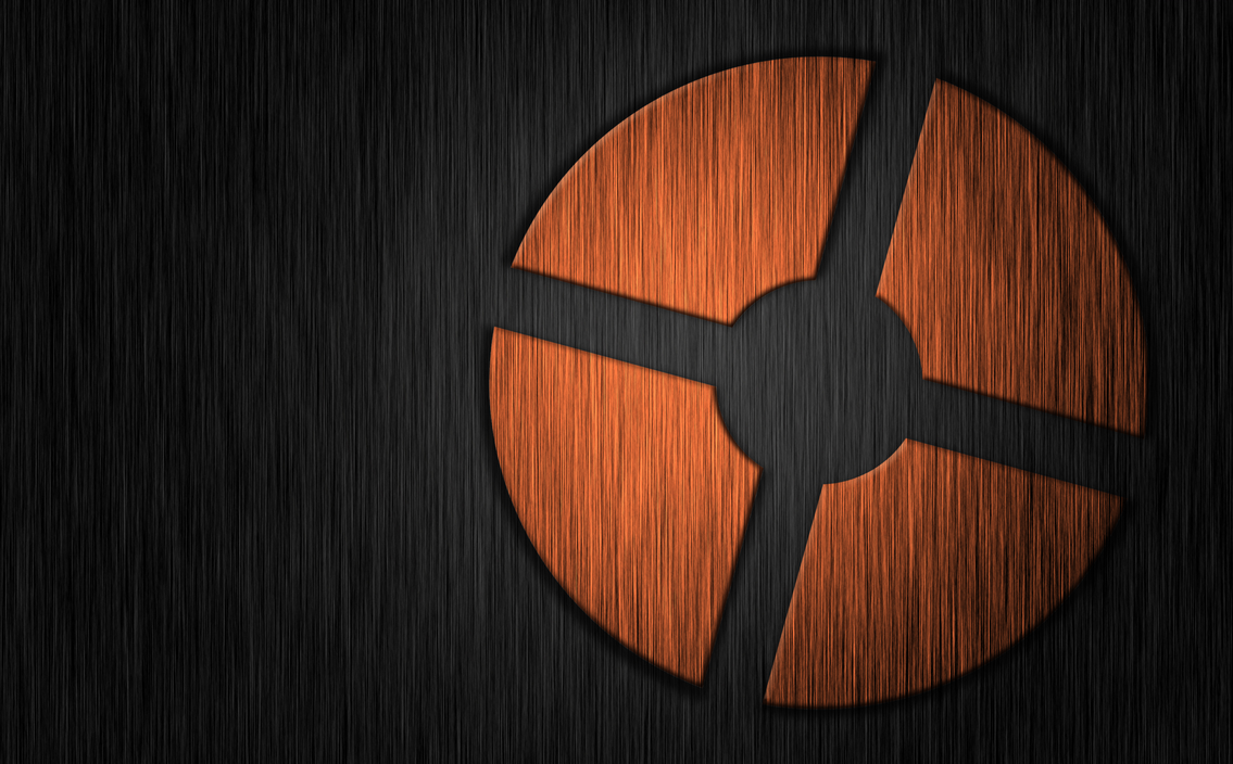 Team fortress 2 chrome background 4k resolution by - Tf2 logo wallpaper ...