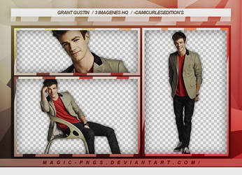 PACK PNG 75| GRANT GUSTIN by MAGIC-PNGS