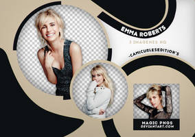 PACK PNG 408| EMMA ROBERTS by MAGIC-PNGS