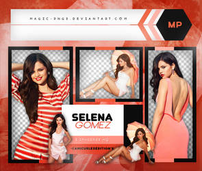PACK PNG 456| SELENA GOMEZ by MAGIC-PNGS