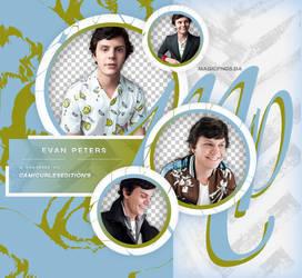 PACK PNG 698| EVAN PETERS by MAGIC-PNGS