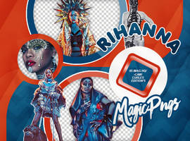 PACK PNG 747| RIHANNA by MAGIC-PNGS