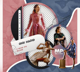PACK PNG 821|GIGI HADID by MAGIC-PNGS