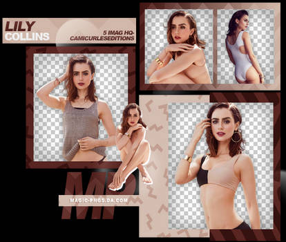 PACK PNG 948| LILY COLLINS