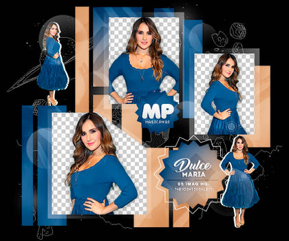 PACK PNG 1081| DULCE MARIA.