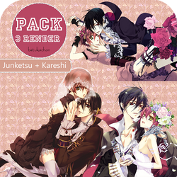 Junketsu + Kareshi Pack png
