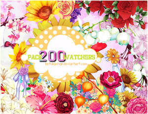 Pack PNG 200 Watchers