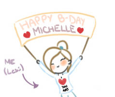 HAPPY B-DAY MICHELLE HOEFENER (Animation)