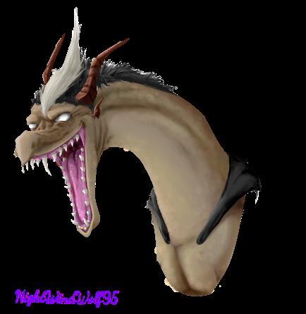 D. Gray-man Dragons: Arystar Krory III by nightwindwolf95