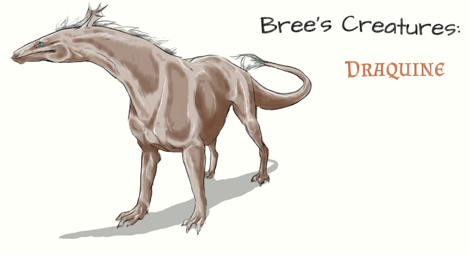 Bree's Creatures: Draquine by nightwindwolf95
