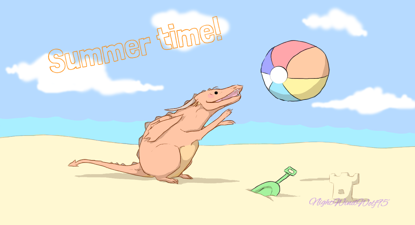 Derp Friday: Time for Summer by nightwindwolf95