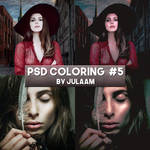 PSD Coloring #5