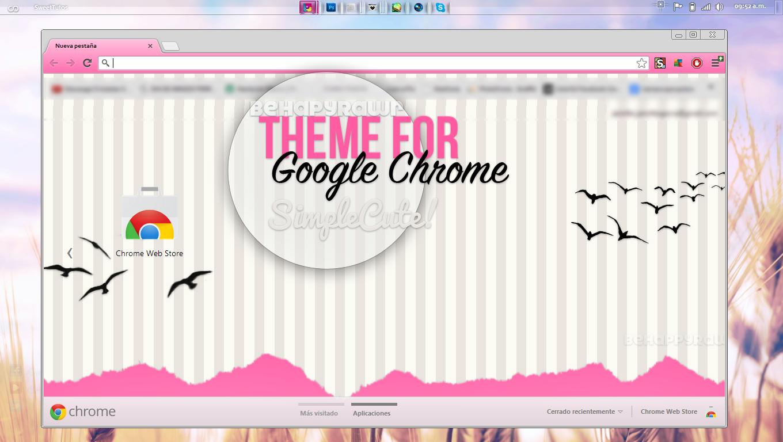 Google chrome themes zebra - Marusitaneko 123 20 Theme For Google Chrome