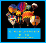 Hot Air Balloon PNG PACK | PNG PACK #2