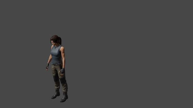 Lara-backflip animation practice