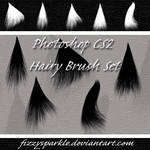 Photoshop CS2-Hairy Brush Set