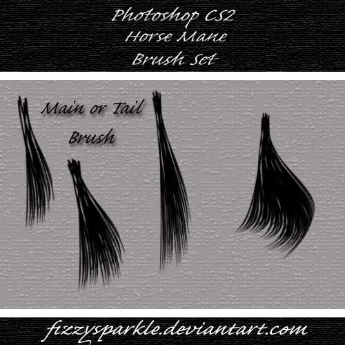 Horse Mane and Tail Brushes