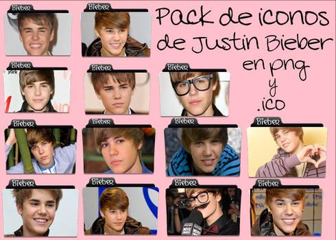 Justin Bieber iconos png y .ico
