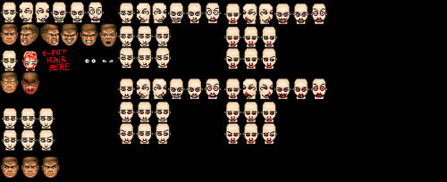 ANX DOOM Pixel heads base V7 + PSD file download by Shiga95