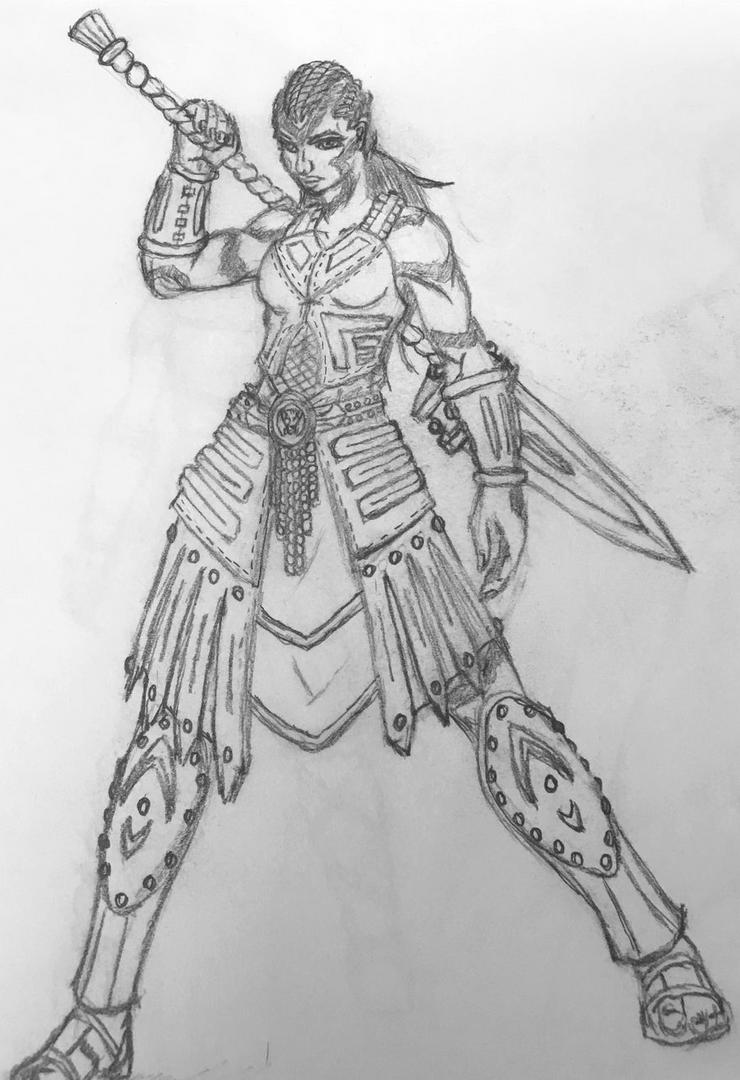 DnD character art by KillianSeraphim