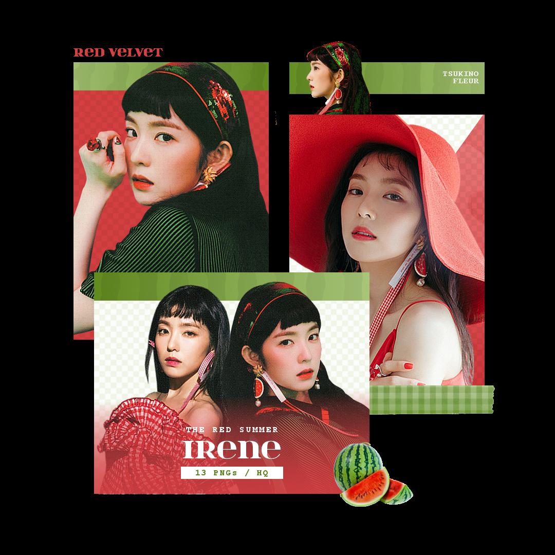 Red Velvet Irene The Red Summer Png Pack By Tsukinofleur On Deviantart