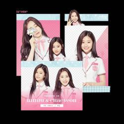 [IZONE] Minju x Chaeyeon - PNG PACK