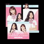 [IZ*ONE] Wonyoung x Sakura - PNG PACK