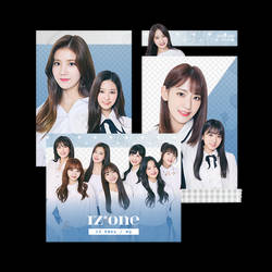 [IZONE] Profile Pictures - PNG PACK