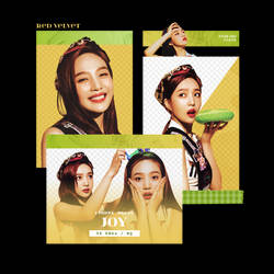 [Red Velvet] JOY / Summer Magic - PNG PACK by TsukinoFleur