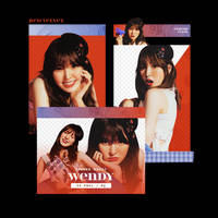 [Red Velvet] WENDY / Summer Magic - PNG PACK by TsukinoFleur