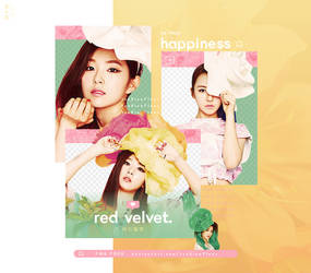 [Red Velvet] Happiness - PNG PACK