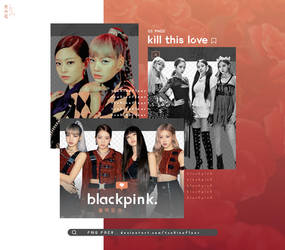[BLACKPINK] Kill This Love - PNG PACK